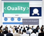 Business People Quality Web Design Concept