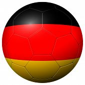 Soccer Football - Country Flag Germany