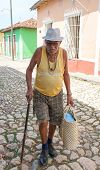 Senior Cuban Citizen In Trinidad, Cuba