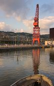 Crane In Bilbao