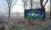 Graffiti Art by St Neots River