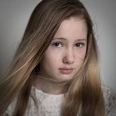 Young Teenage Girl Crying
