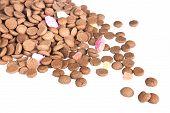 Pile Of Ginger Nuts, Dutch Sweets At 5 December Sinterklaas