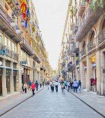 Carrer De Ferran, Gothic Quarter, Barcelona