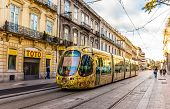 pic of tram  - MONTPELLIER FRANCE  - JPG