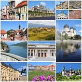 picture of sibiu  - Romania country photo collage - JPG