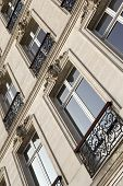 stock photo of bordeaux  - Facade of a mansion in Bordeaux France