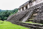 picture of mayan  - View of Historic Mayan Site - JPG