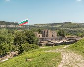 stock photo of late 20s  - Tsarevets was main fortress of Second Bulgarian Empire in 12 - JPG