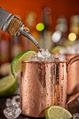 picture of vodka  - Cold Moscow Mules  - JPG