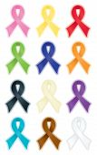 Smooth Awareness Ribbons
