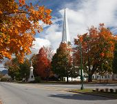 Manchester Vermont In Fall
