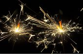picture of hari raya  - firework is usually something beautiful we can have in new year - JPG