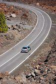 Road Through Volcanic Landscape1