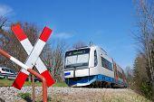 Local Commuter Train In Bavaria