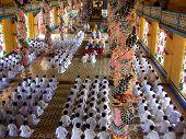 Cao Dai cerimônia