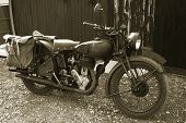 Vintage Norton Military Bike #2