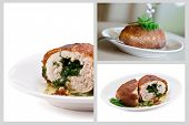 The Ukrainian chicken chop kiev