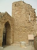 Gate, Entrance, Columns, & Ruins Of Historical Place/Building poster