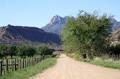Mountain Country Dirt Road