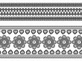Henna border designs