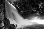 picture of abram  - abrams falls at Cades Cove Tennessee Rivers and falls - JPG