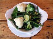Food. Side Dish Of Vegetables. Nutrition