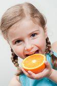pic of happy kids  - I like orange - JPG