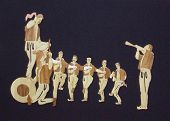Paja de pintura, danza tradicional de Macedonia, Teskoto