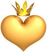 Golden heart of King.
