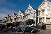Victorian Houses, San Francisco, California