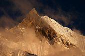 Sunset in Himalaya