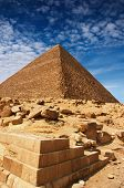 picture of burial-vault  - Egyptian pyramid - JPG
