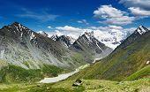 Belukha-o pico mais alto da Sibéria