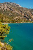 Oludeniz Lagoon And Mountains