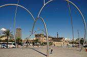 Barcelona Olympic arc
