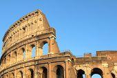 Famous Colosseum or Coliseum in Rome(Flavian Amphitheatre), Italy