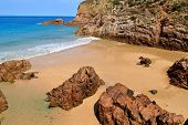 Plemont Beach, Jersey, Channel Islands, Uk