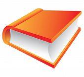 Orange buchen 3d