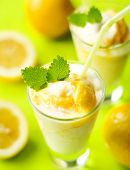 stock photo of frappe  - fruity summer cocktail - JPG