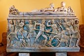 Sarcophagus with the Calydonian boar hunt