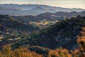 Sunrise On Central California Diablo Range