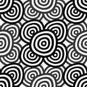 Abstract Seamless Monochrome
