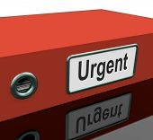Urgent File Shows Documents With Priority Deadline