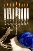 Shawl Cap And Menorah