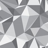 stock photo of polygons  - Diamond shape seamless pattern  - JPG