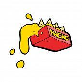 nachos cartoon