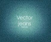 Textura de los pantalones vaqueros de Vector