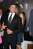 Los Angeles - AUG 15:  Sylvester Stallone arrives at the