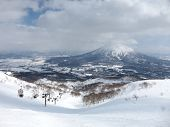 Ski runs in Hokkaido, Japan �¢�?�? Hirafu, Niseko and Mount Yotei